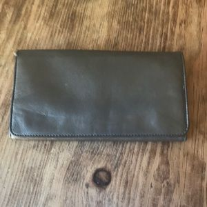 Latico leather trifold wallet